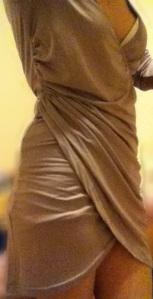 AliExpress dress on me.  Please don't judge my lumps! Lol